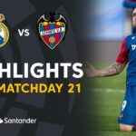 Levante vs Real Madrid Featured Game